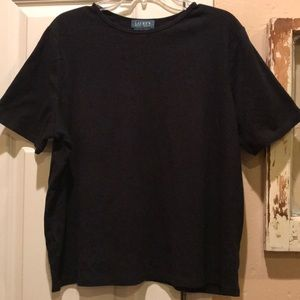 Ralph Lauren black short sleeve tee